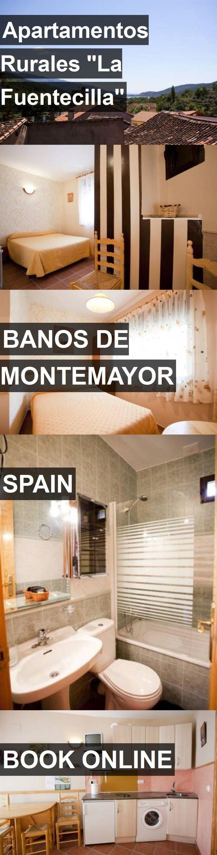 """Hotel Apartamentos Rurales """"La Fuentecilla"""" in Banos de Montemayor, Spain. For more information, photos, reviews and best prices please follow the link. #Spain #BanosdeMontemayor #travel #vacation #hotel"""