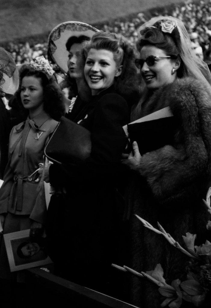 L for legends: Shirley Temple, Rita Hayworth & Barbara Stanwyck