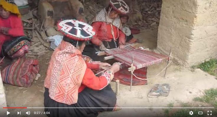 Traditional Peruvian Weaving Video