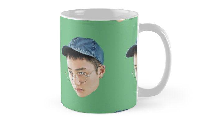 EXO Lucky One D.O. Pattern Mugs