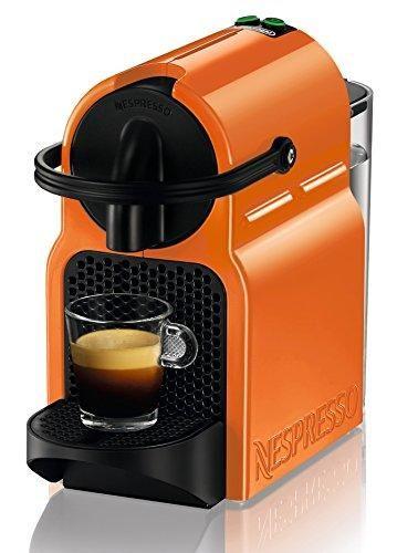 Oferta: 59.00€ Dto: -40%. Comprar Ofertas de DeLonghi Nespresso Inissia EN 80.O - Cafetera automática, 19 bares, color naranja barato. ¡Mira las ofertas!