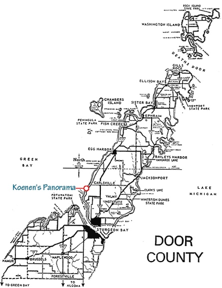 25  best ideas about door county map on pinterest