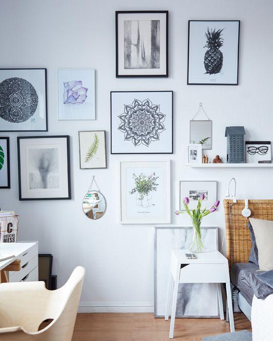 Margo's artwork blurs the line between bedroom and office