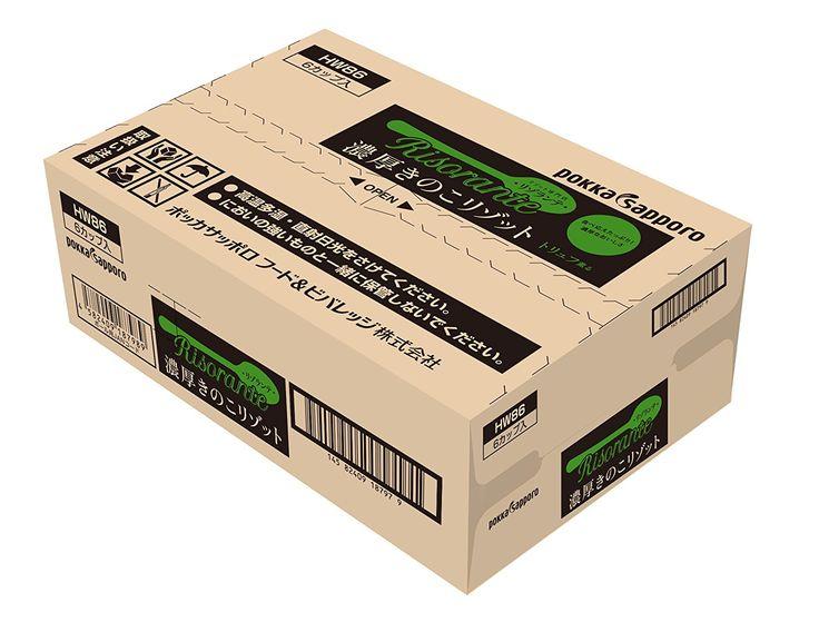 Amazon   ポッカサッポロ リゾランテ濃厚きのこリゾットカップ×6個   ポッカサッポロ フード&ビバレッジ   スープ 通販