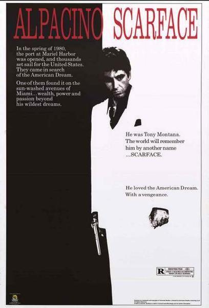 Scarface Movie Poster 24x36 – BananaRoad