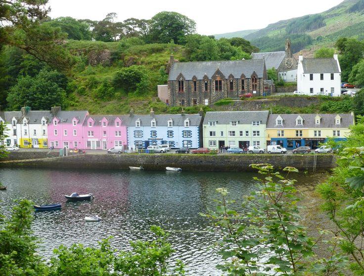 Portree, Isle of Skye.