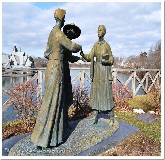 Seneca Falls, NY - 3 Important Ladies in History