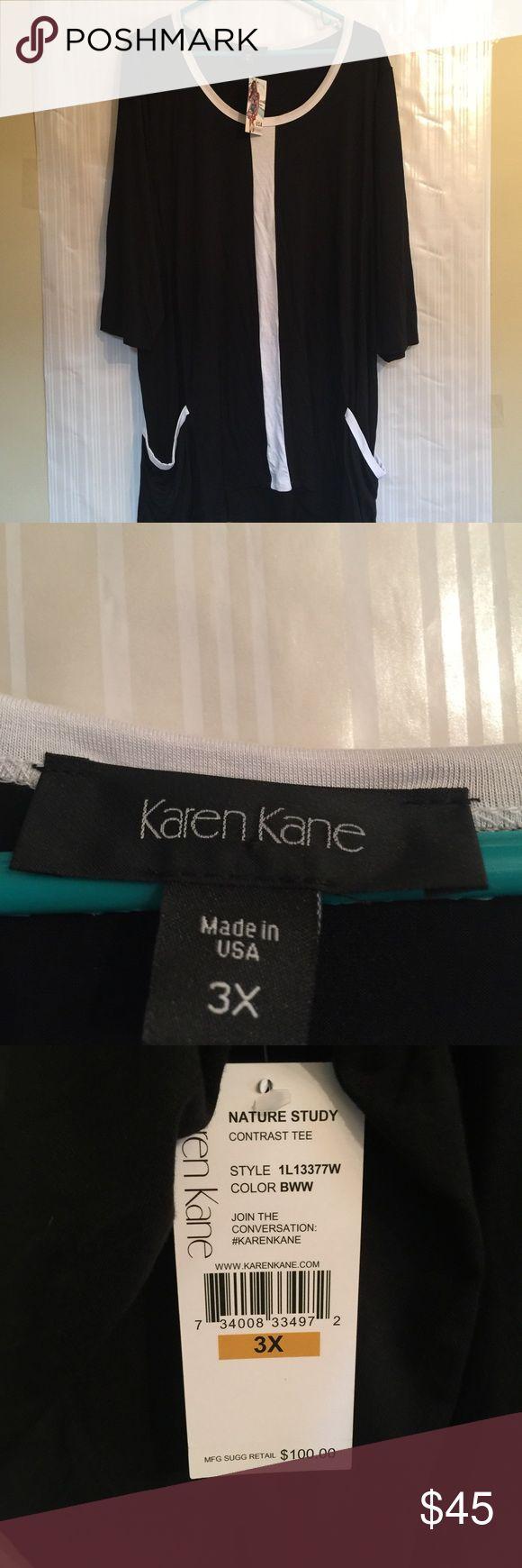 NWT Karen Kane Top Karen Kane Top that is perfect for Spring. Karen Kane Tops Tunics