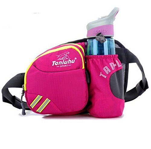 Ska Direct® Lumbar Waist Pack - Running Bag Belt with Water Bottle Holder - Waterproof Fanny Pack with Reflective Tabs (Pink) Ska Direct http://smile.amazon.com/dp/B00LJ181U0/ref=cm_sw_r_pi_dp_cU4svb1HJAJ5S