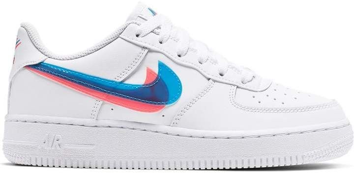 Nike Air Force 1 Low 3D Glasses (GS) | Custom nike shoes, Nike air ...