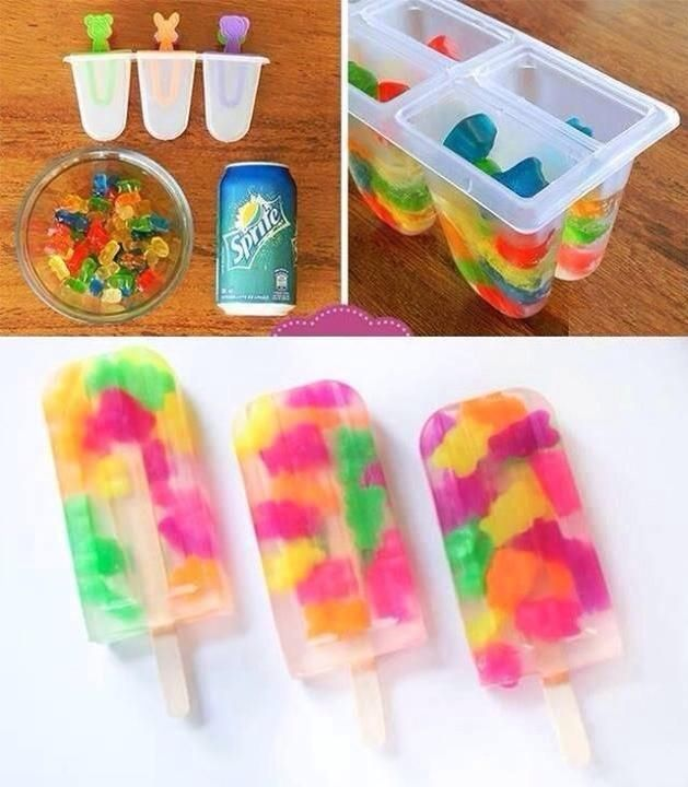 Gummy Bear Ice Pops Pictures, Photos, and Images for Facebook, Tumblr, Pinterest, and Twitter