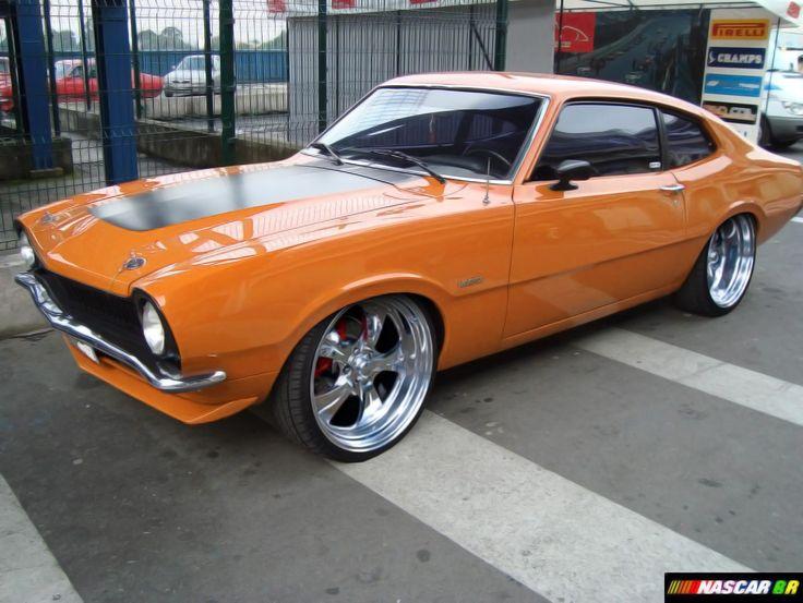 Ford Maverick not orange, but j like it