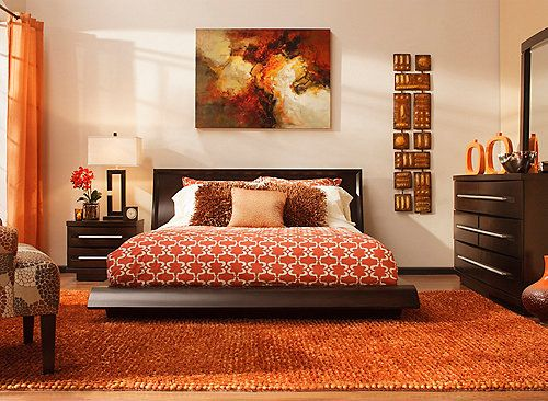 this wall street 4 piece king platform bedroom set exudes style sophistication and posh city