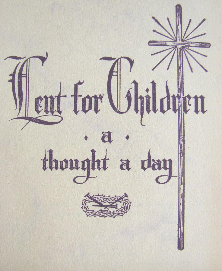 Our Lenten Plans, 2011 Catholic lent, Lent devotional