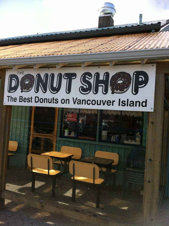 The Donut Shop in Port Alberni... OMG soooo good!