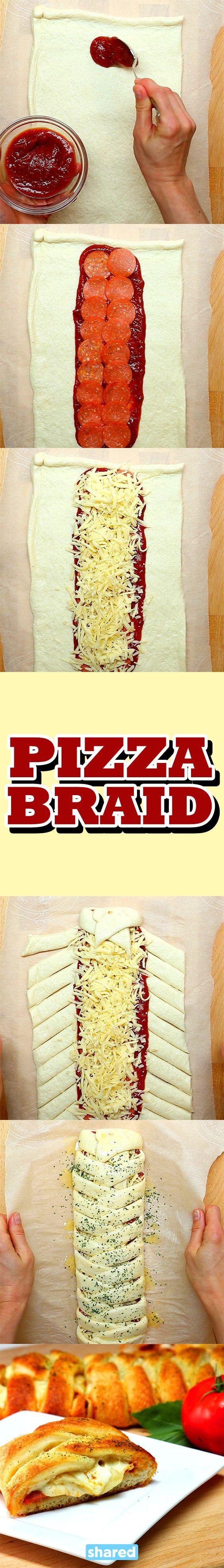 Pizza Braid