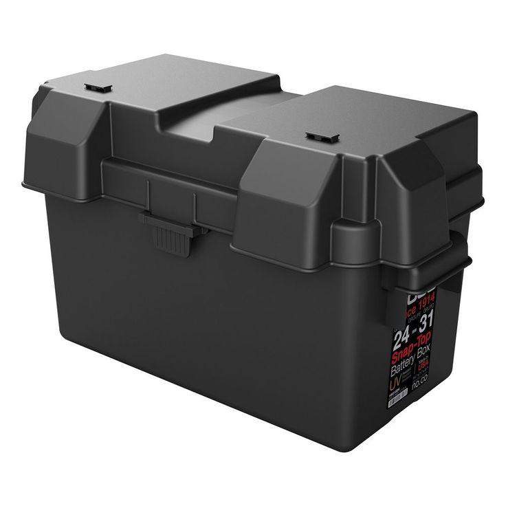 Battery Box Auto Marine UV Rv Cover tray Safe Impact Resistant NOCO Group 24-31 #NOCO
