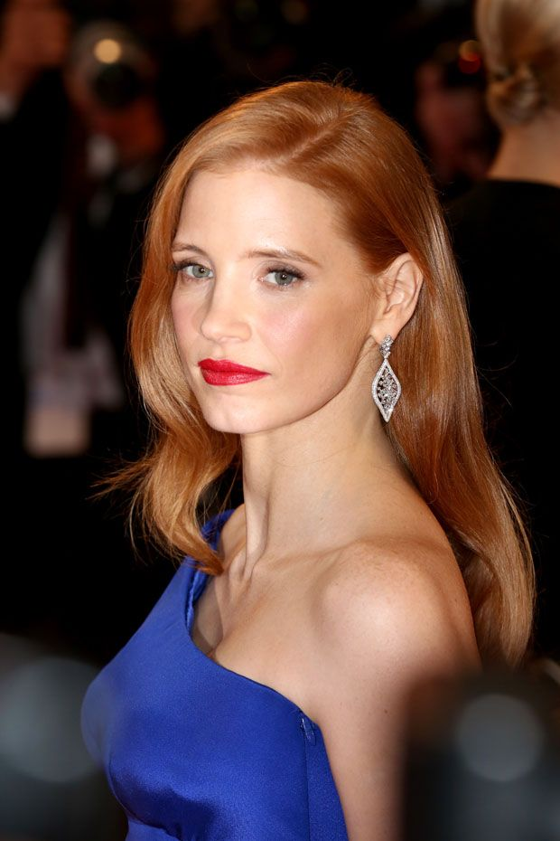 Jessica Chastain - looking beautiful.
