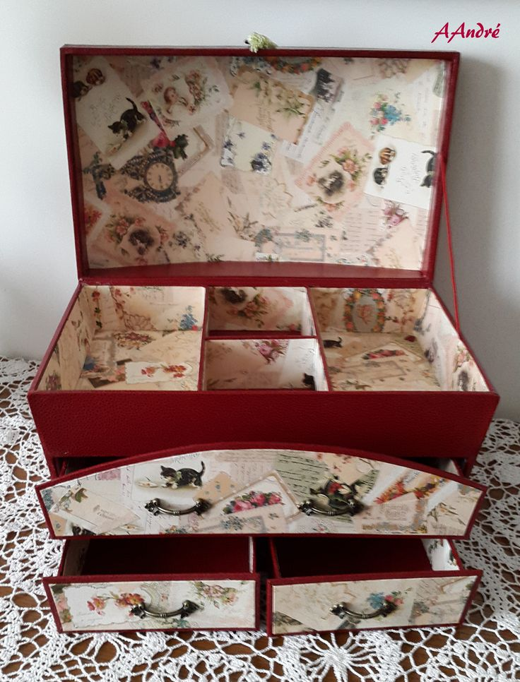 779 best cartonnage images on pinterest cartonnage - Boite a couture gifi ...