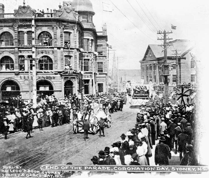 End of the Parade_Coronation Day_Sydney_Cape Breton_Nova Scotia | Photographs And Memories of Cape Breton_Cape Breton Nova Scotia