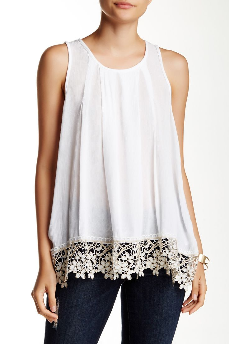 Swooning over this romantic lace top - perfect for your next date night, or festival weekend.