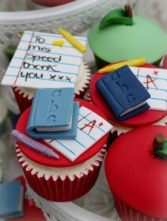 teacher thank you cupcakes - Google Search