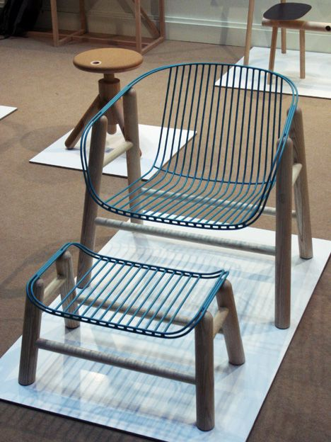 Lapa armchair ottoman by Rui Alves
