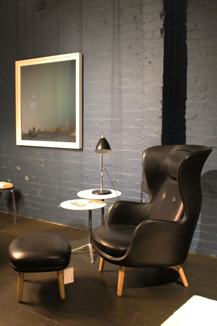 Cult | Sydney showroom featuring Ro armchair and stool, designed by Jaime Hayon for Fritz Hansen.