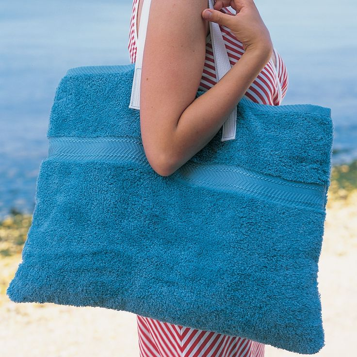 Beach-Towel Tote Bag and more on MarthaStewart.com