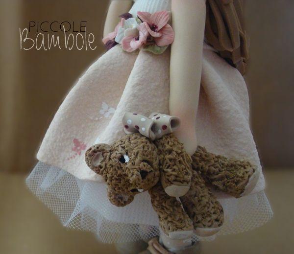 PiccoleBambole: Porcellana fredda- cold porcelain- bear