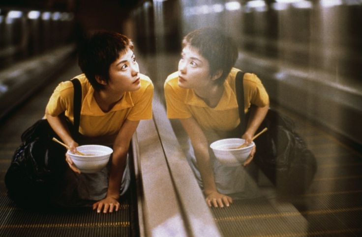 """We're all unlucky in love sometimes. When I am, I go jogging. The body loses water when you jog, so you have none left for tears."" Chungking Express, 1994 / Wong Kar-Wai"