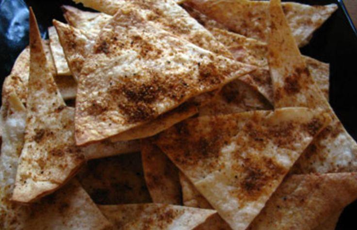 Zo maak je met slechts een paar ingrediënten heerlijke tortillachips