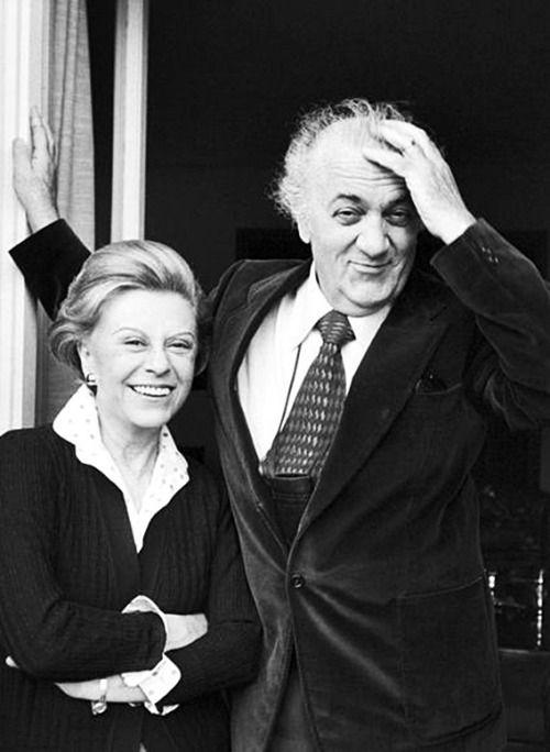 Giulietta Masina, Frederico Fellini  . 