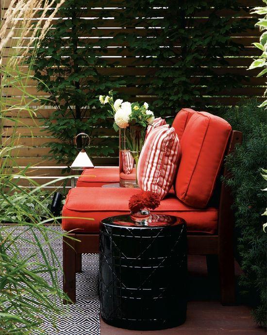 Gartendesign – Modernes, cooles Gartendesign im Hinterhof