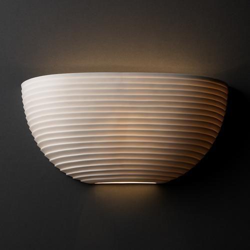 ADA Quarter Sphere Wall Sconce : POR-5725-SAWT | Lighting Emporium landing