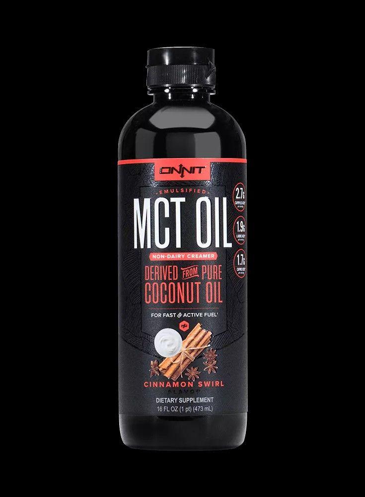 Emulsified mct oil pure coconut oil mct oil cinnamon swirl