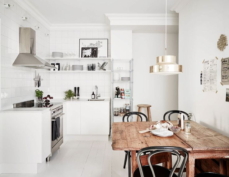 Visit a Small Swedish Flat With Charming Modern Style | DomaineHome.com