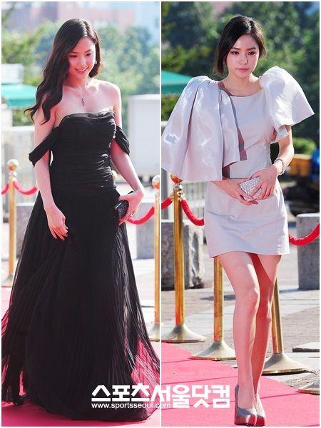 Long dress korean novela