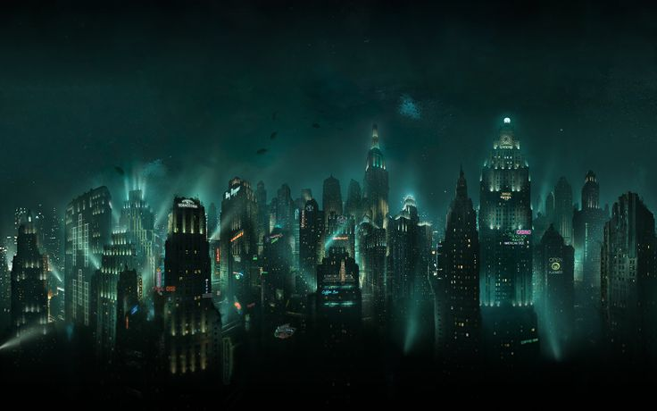 Bioshock (PC, Xbox 360, PS3) Taking much influence from the French 1920s art movement, Art Deco, Bioshock takes place in the underwater city of Rapture, an artist's wildest dream.
