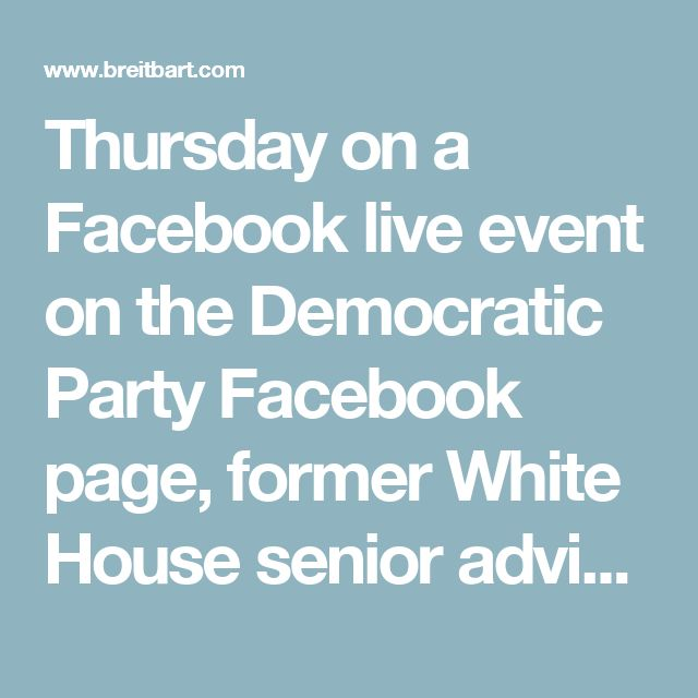 "Thursday on a Facebook live event on the Democratic Party Facebook page, former White House senior advisor to President Barack Obama Valerie Jarrett said the legislative process  to pass the Affordable Care Act in 2010 was ""very transparent.""  Jarrett said, ""I mean we had hundreds of meetings. We made hundreds of amendments. It was all very transparent. The President had a great meeting where we invited in the Republicans for an open press session to answer all of their questions. It was a…"