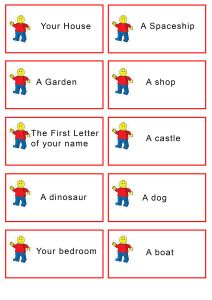 lego-building cards - next time the kids are bored whip out these lego challenge cards