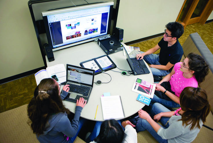 Collaborative Classroom Technology ~ How steelcase redesigned the st century college