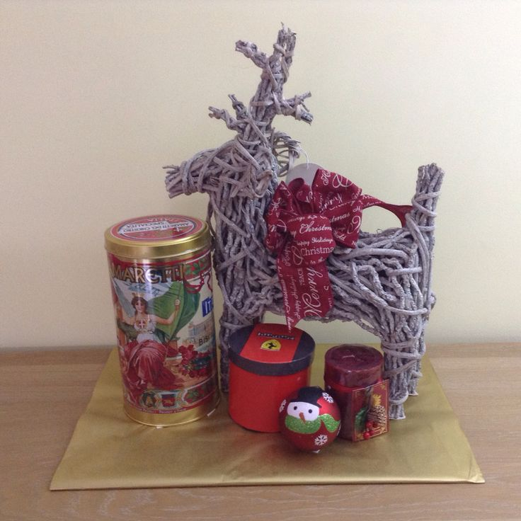 Unique and Custom Christmas Gift Basket created and sold by Ambiance Innovative Event Planning  www.planwithambiance.com
