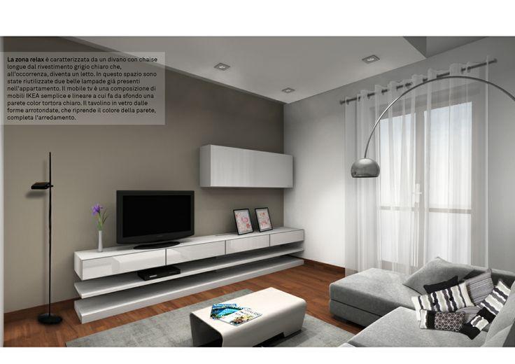 Oltre 25 fantastiche idee su Pareti grigio chiaro su Pinterest  Pareti grigie, Vernice per ...