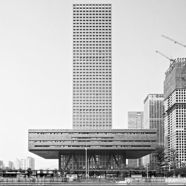 erittonio: OMA . Shenzen Stock Exchange . China . 2013