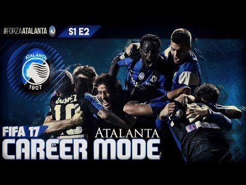 FIFA 17 | Atalanta Career Mode E2 - CRINGE AF