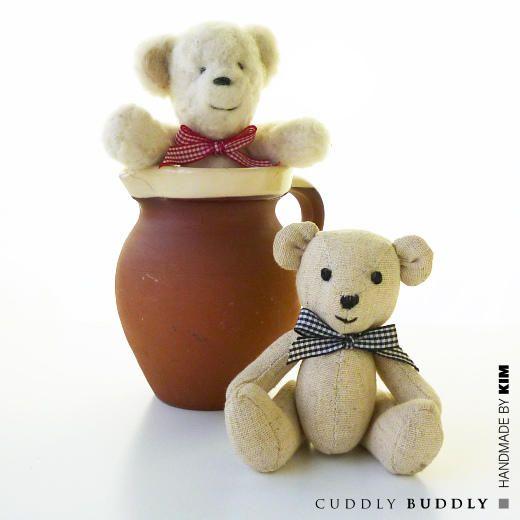 Kim's Digital Sewing Pattern - Small Teddy Bear < Craft Shop | Cuddly Buddly Crafts