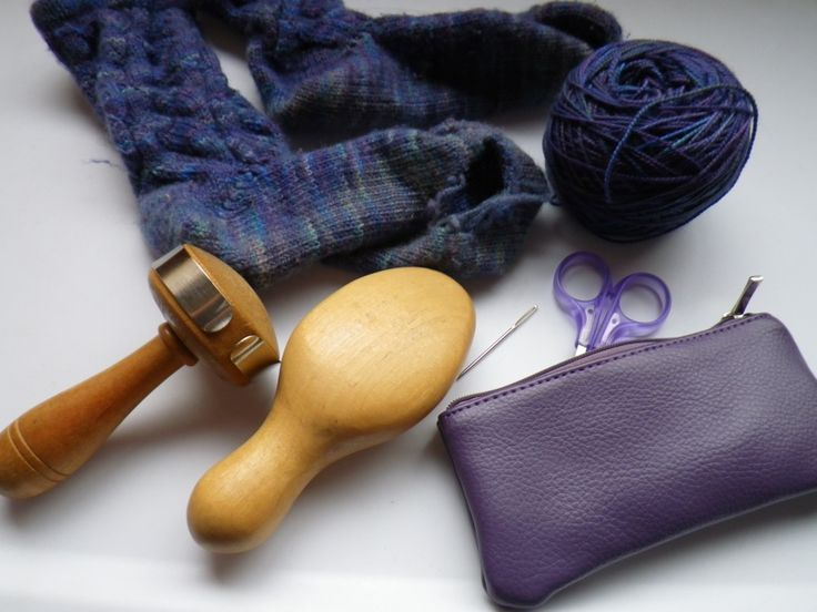 A great darning tutorial! -- FYI When hand sewing or for mending the darning egg is a wonderful underlaying tool so you don't stick yourself with a needle while sewing a patch or adding lace braid. Easy to use on table, just in your hands or on your lap. Style of darning egg depends on what is comfortable for you and where you need to use it. Some of the older ones are needle keepers, too.