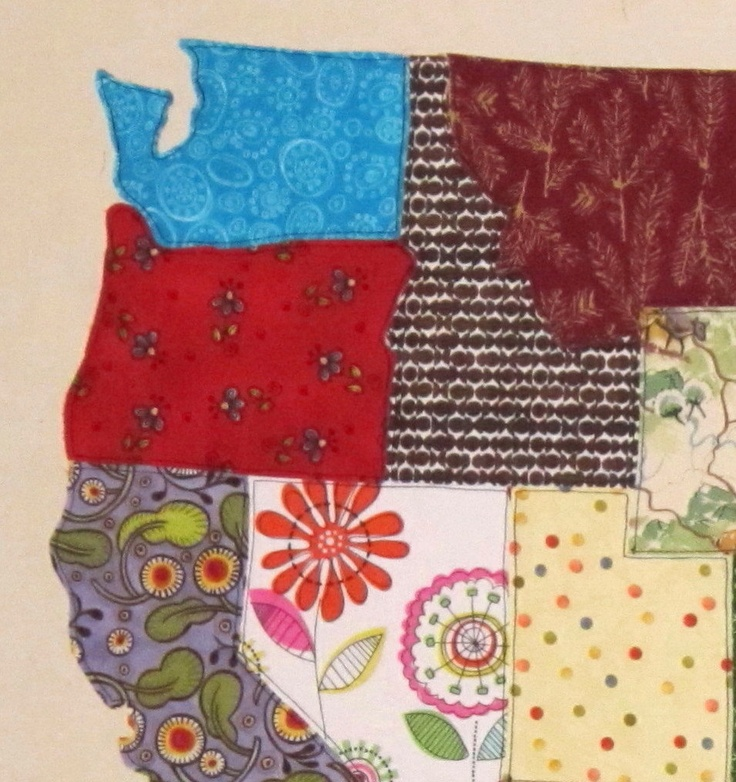 Best 25+ Map quilt ideas on Pinterest | Map projects, How to make ... : quilts usa - Adamdwight.com