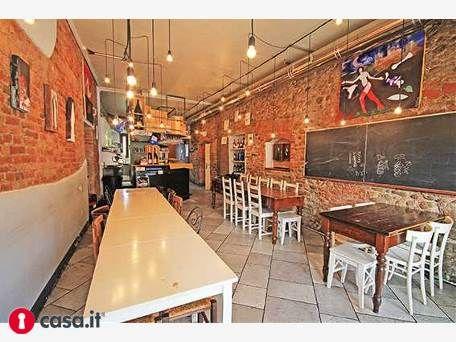 - BERGAMO _ LONGUELO  Rinomata attività di lounge bar, con tavola fredda situata in contesto d'epoca eccellentemente ristrutturato.  Immobile di mq 60 rifinito in pietra ed arredato con stile, dotato di angolo bar completamente attrezzato, bagno a norma e utilizzo piccolo spazio esterno.